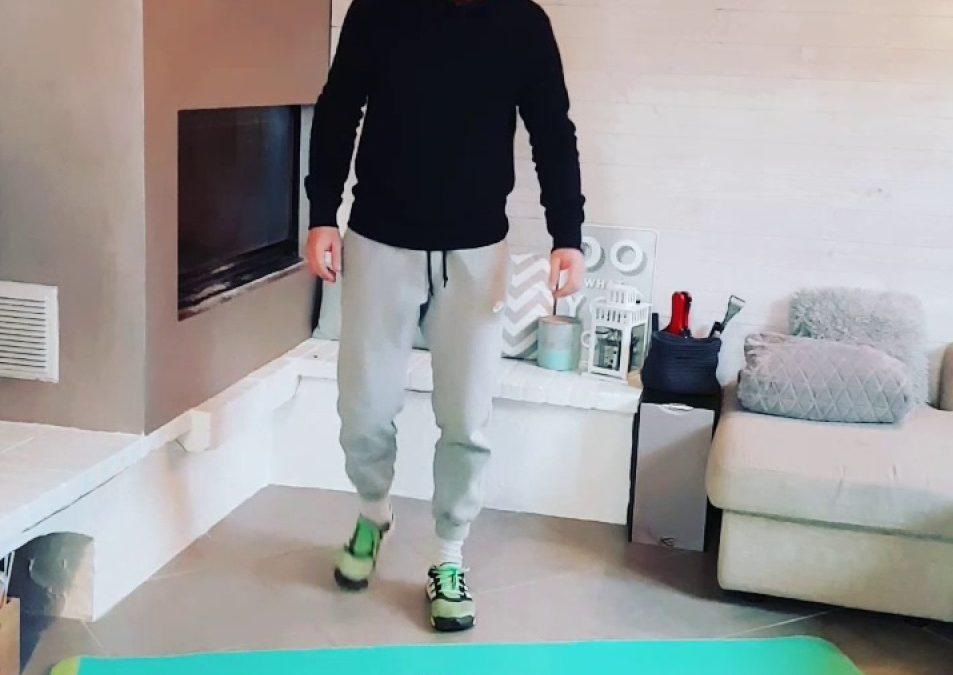 Exercices jambes quadri et ischio